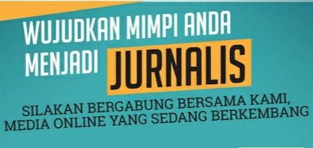 lowongan kerja menjadi Jurnalis