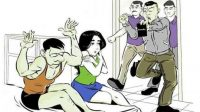 Ilustrasi penggrebekan perselingkuhan.(istimewa)