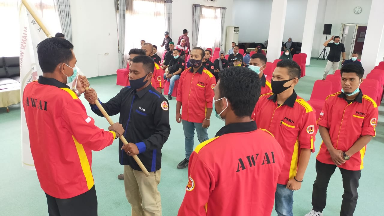 pemgukuhan AWAI Aceh Timur