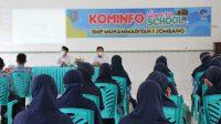 kominfo goes to school